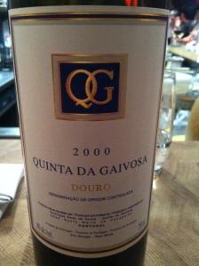 Quinta Da Gaivosa 2000